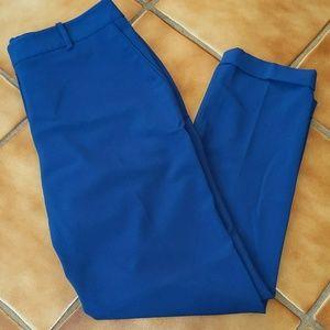Tahari Blue Trouser Pants size 4